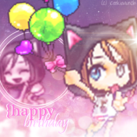 {Gift} HBD Sandy by Externity