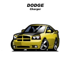 Chibi Dodge Charger by CGVickers