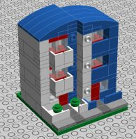 lego post-modernist building 01 by trc66
