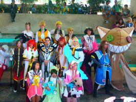 Otakon 2012 - Tales of the Abyss by mugiwaraJM