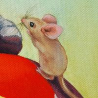 Mouse Detail by johannachambers