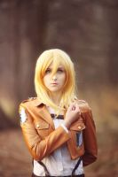 Christa Renz/Historia Reiss - Shingeki no kyojin by lKainl