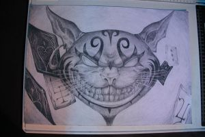 Cheshire Cat by ill-felix