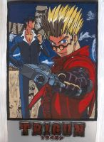 Trigun Binder by Cl0ver