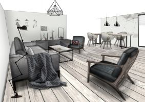 1026_Living+dining room by Holy-Satanica