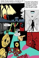 Trance Comic page 1 with color by DavidHansson