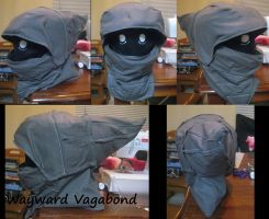 Wayward Vagabond cosplay head by TrueAlaso
