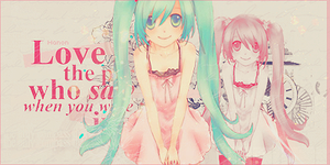 Miku sign by RanmaGirlSaotome