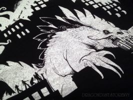 Fatality Fest tee detail by mirroreyesserval