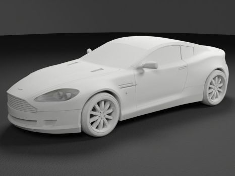 Aston Martin DB9 Coupe WIP 3 by heretik66