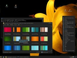 Dark classic windows theme by niruana