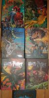 SWE Harry Potter book covers by HorrorOf