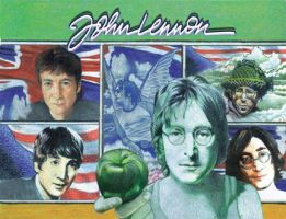 John Lennon:'In My Life' by choffman36