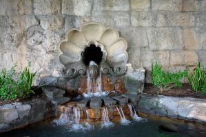 Baroque Fountain by archistock