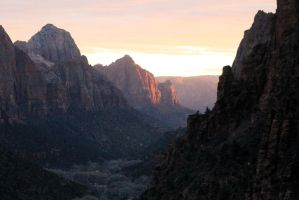 Zion at Sunset by I-Heart-Photos