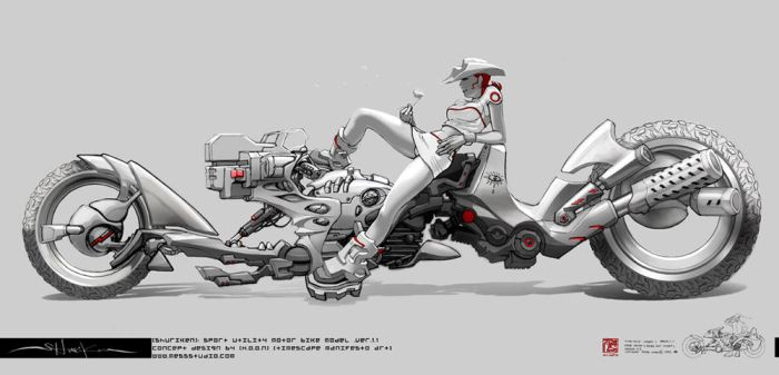 SHURIKEN: vehicle concept 1of3 by HOON