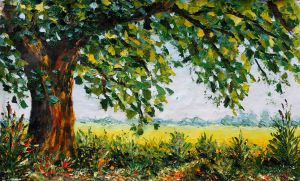 Oil painting Sunny Day 282. Valery Rybakow. by wwwrybakowcom