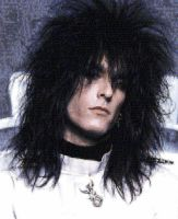 Nikki Sixx Photo Mosaic Color by whendt