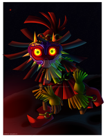 Majora's Mask by Domestic-hedgehog