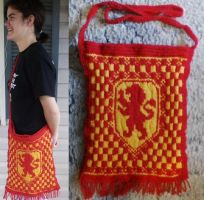 Gryffindor Bookbag by Creativity-Squared
