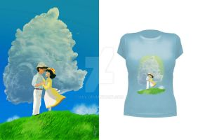 The wind rises Tshirt by D3iv