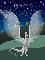 Cylamiar the dragon by moonlightartistry