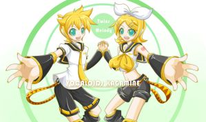 Kagamine Twins by yan531