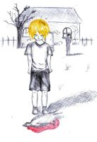The boy who never cry again by Nazaret-MNOG