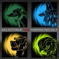 Soul Buttons [Furriends Pack Vol.2] by Fleki
