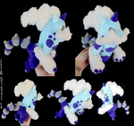 Shiny Thundurus - Therian Forme by xSystem