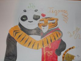 Po x Tigress (in private^^) by Morasso