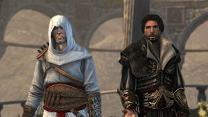ezio and altair by BlessAnanim