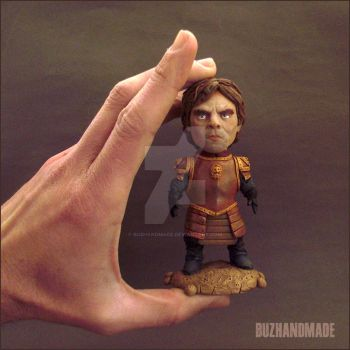 Tyrion Lannister Sculpture Game of thrones fanart by buzhandmade