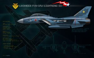 F19J Lightning - JSDAF by danyboz