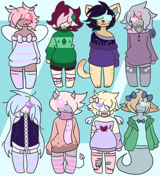 (Closed) Mixed Cheeb Adoptable Batch by With-X3