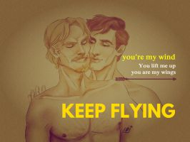 Keep flying by GlenLorence