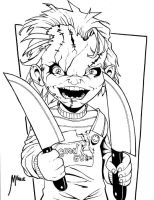 Chucky Inked by MJValle