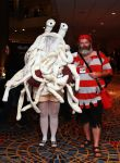 Flying Spaghetti Monster and Captain Mosey 1 by Insane-Pencil