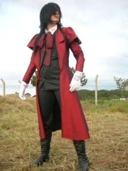 Alucard cosplay by yellow-pig
