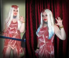 The Meat Dress by Silyah246