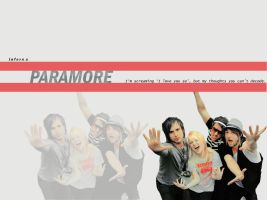 Paramore wall by unterdersonne