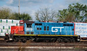GTW GP9r at the yard by wolvesone