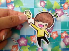 SHINee: Taemin Paperchild by sasoriluver101
