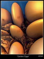 Golden Eggs by Eccoton