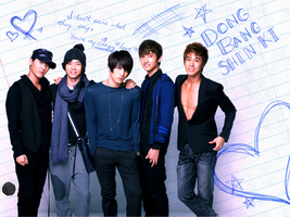 crazy love dbsk wallpaper by fataltalon