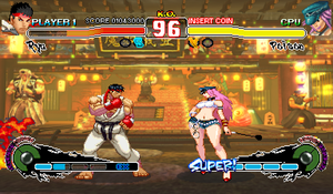 Ultra Street Fighter 4 CPS3 ZOOM X2 by juniorbunny