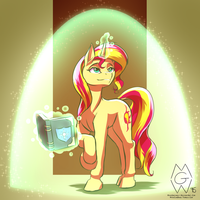 Stream Request: Sunset Shimmer by MykeGreywolf