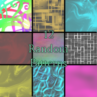 12 Random Patterns by minithing101