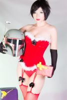 Santa Fett 01 (Boba Fett Christmas Edition 2012) by Kitty-Honey