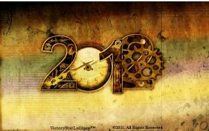 2012 Clockwork Wallpaper by VictoryStarLollipop